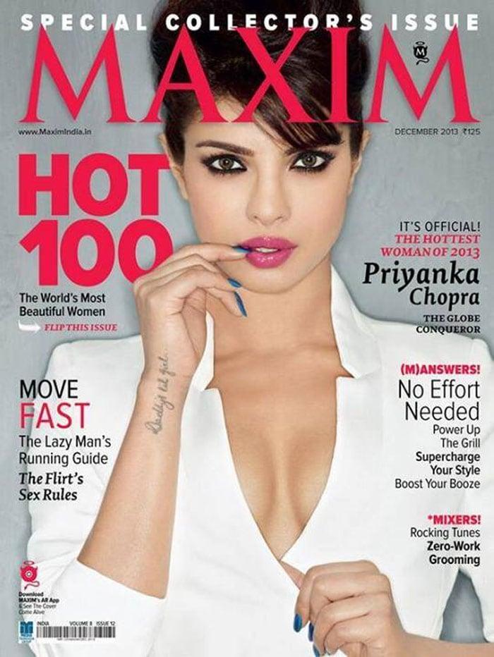 Priyanka glams up for Maxim India