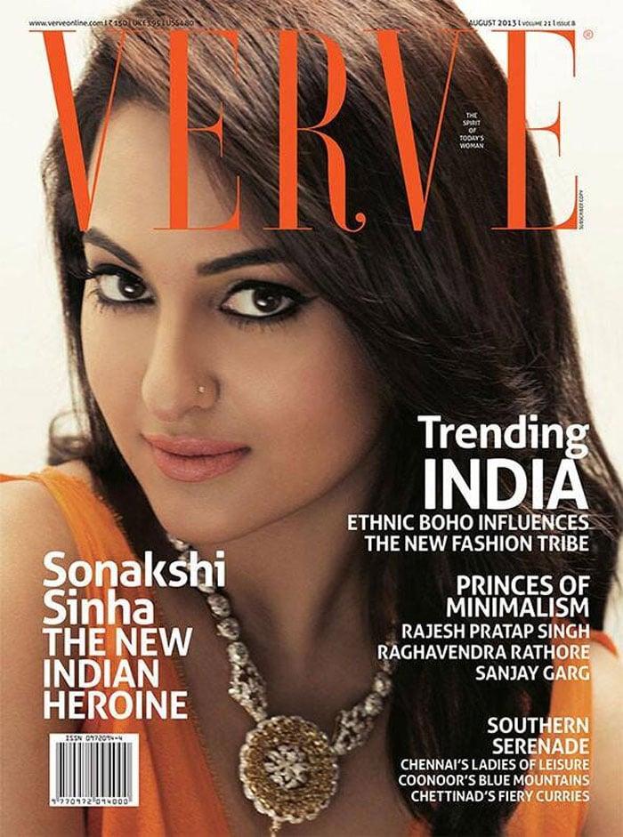 Sonakshi glams up for Verve