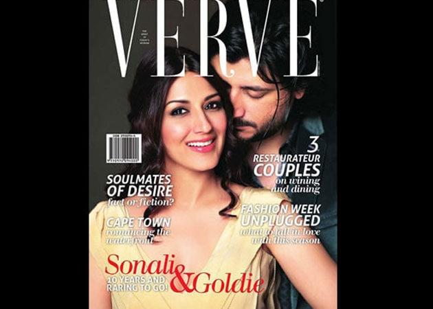 Valentine couple: Sonali, Goldie