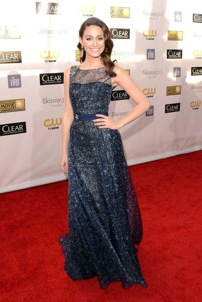 Celebrity line-up at Critics' Choice Awards Emmy Drop Menko
