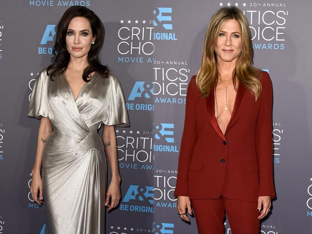 Angelina vs Jennifer on a Stylish Red Carpet