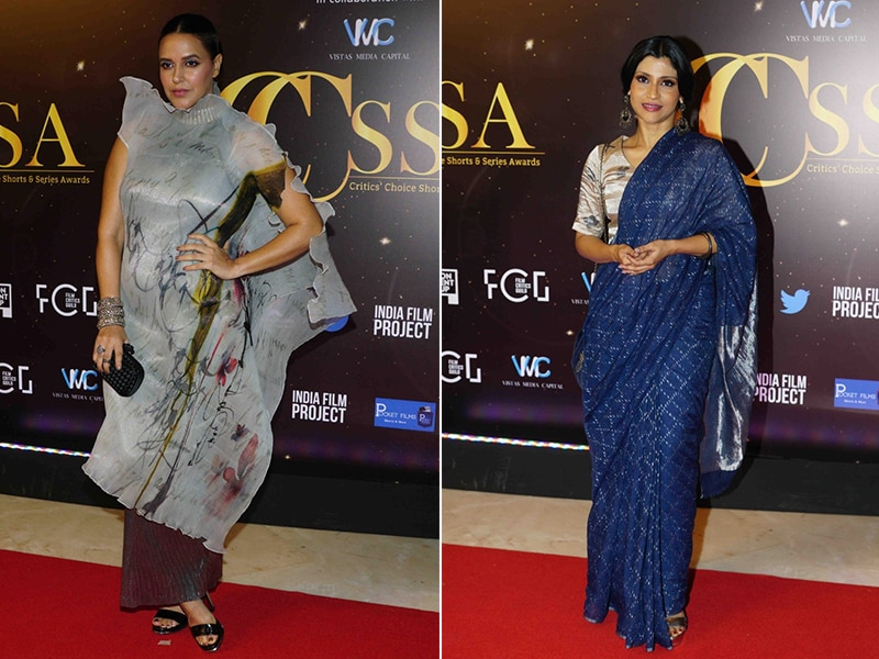 Critics' Choice Shorts And Series Awards 2019: Neha Dhupia, Konkona Sen Sharma And Others Put Their Stylish Foot Forward