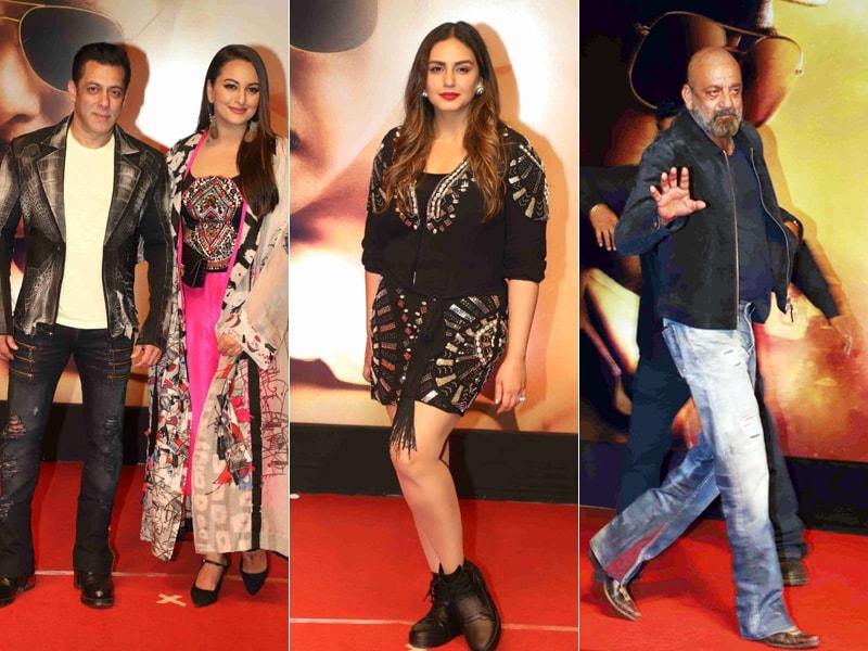 Dabangg Screening Of Dabangg 3: Salman, Sonakshi, Sanjay Dutt And Others