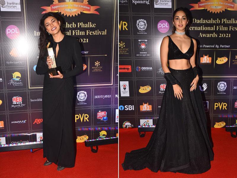 Photo : Dadasaheb Phalke International Film Festival Awards 2021: सुष्मिता सेन, कियारा आडवाणी समेत इन सेलेब्स ने की शिरकत