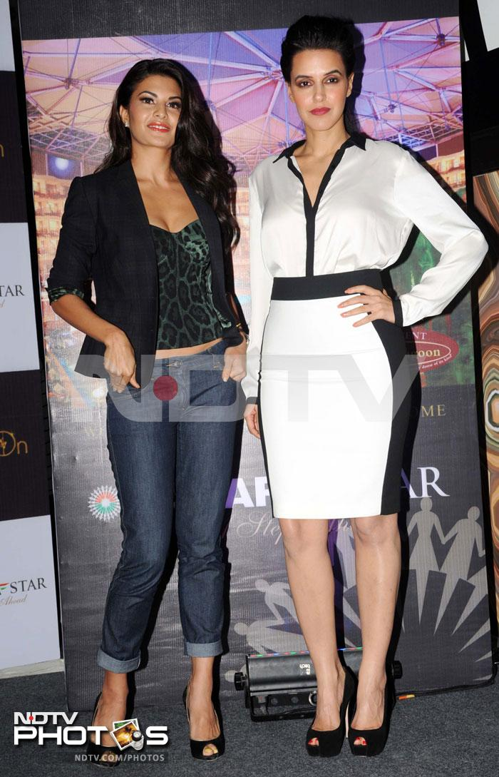 Neha, Jacqueline get ready for New Year bash