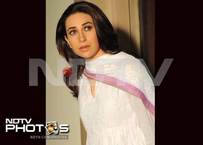 Karisma Kapur shoots for Dangerous Ishhq