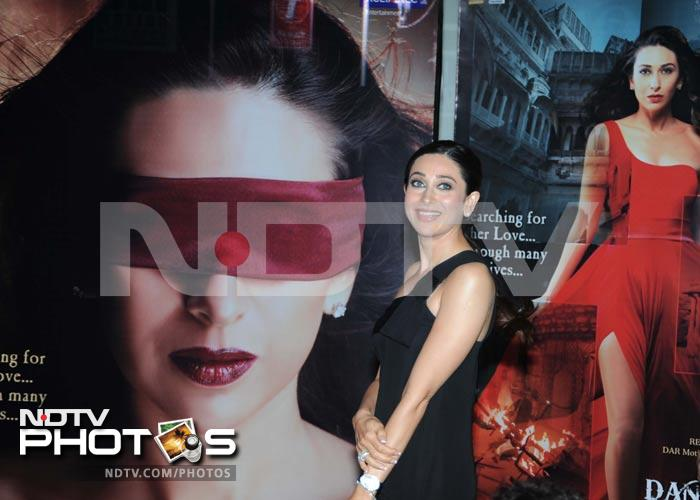 Karisma unveils the first look of comeback film Dangerous Ishhq