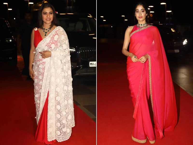 Kajol And Janhvi Kapoor Lead Celeb Roll Call At The Dadasaheb Phalke Excellence Awards
