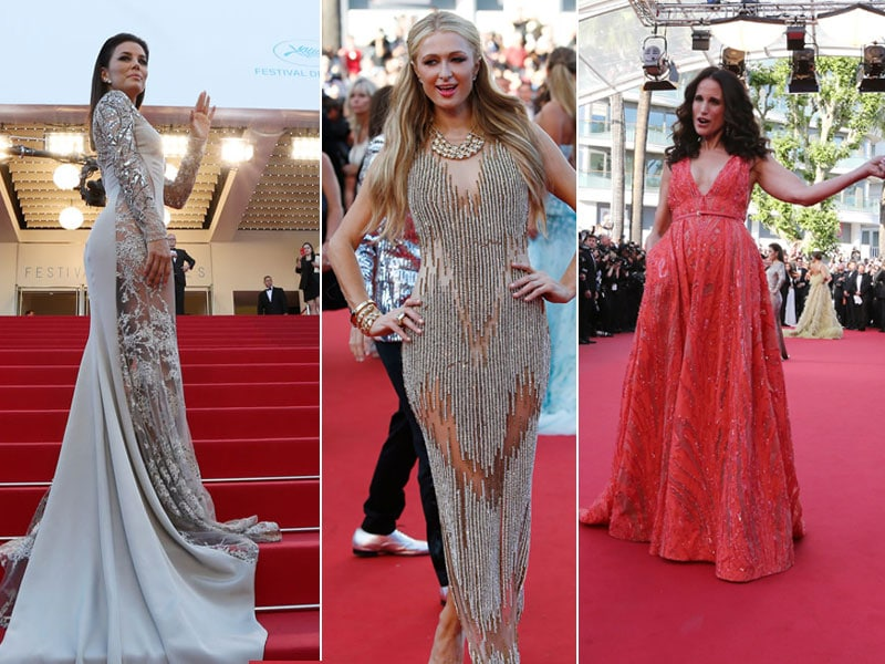 Traffic Stoppers at Cannes: Eva, Andie, Paris