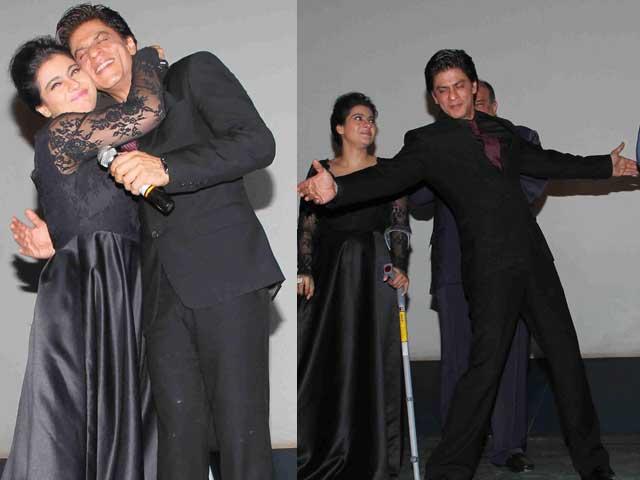 SRK, Kajol Recreate DDLJ Moments