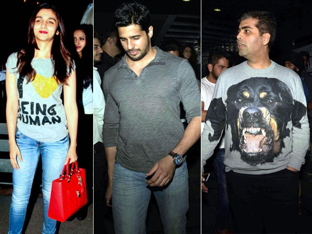 We Like to Party: Alia, Sidharth, KJo