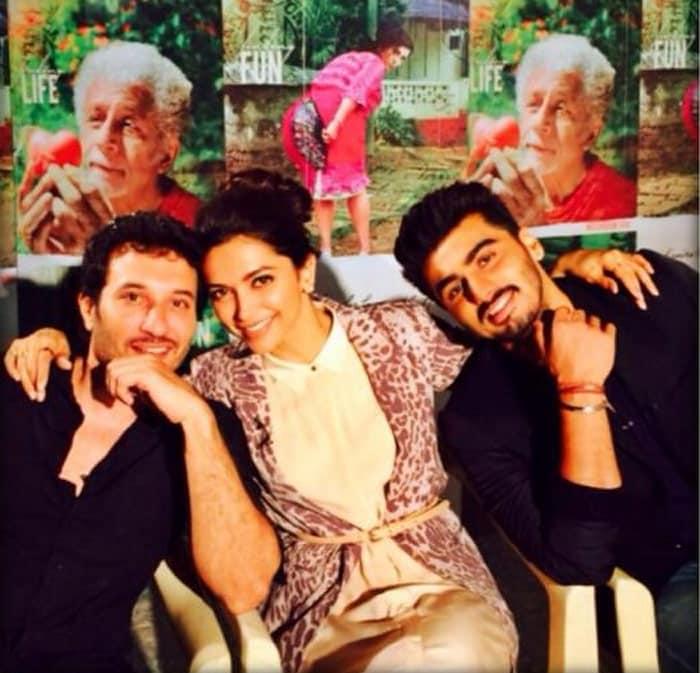 Looking for Fanny, Finding Friends: Deepika, Arjun, Homi