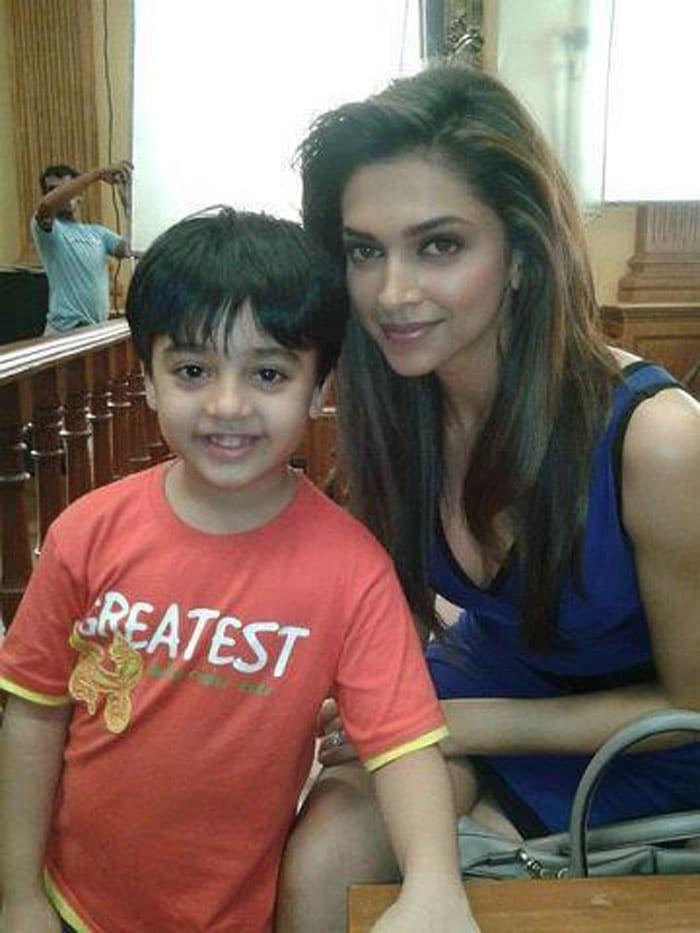Who is Deepika\'s little fan?