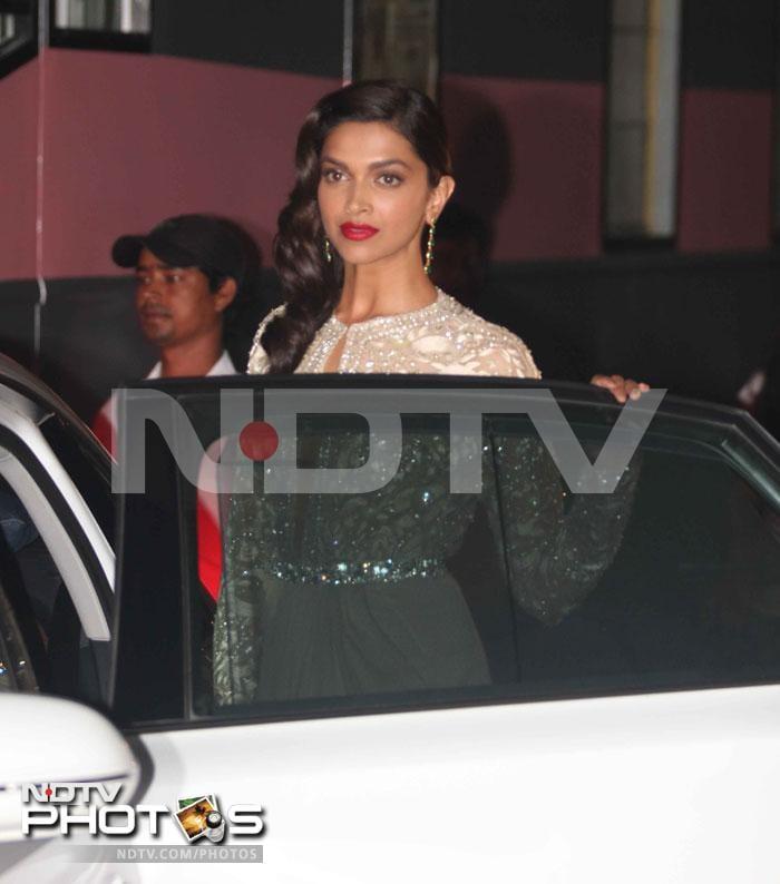 Deepika: two dresses, one girl