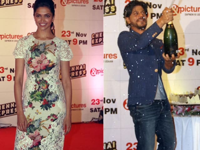 For Chennai Express stars, party abhi baaki hain