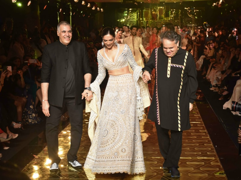 Gorgeous Deepika Padukone Gets Groovy On The Ramp
