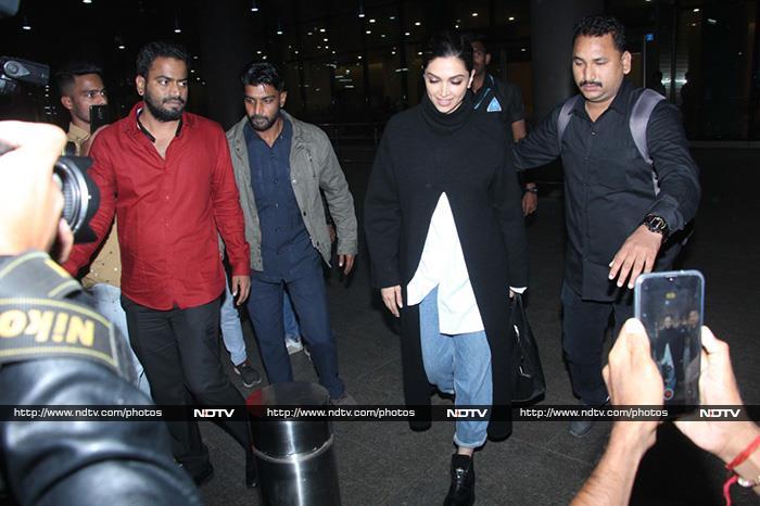 Deepika Padukone Returns To Mumbai After JNU Visit