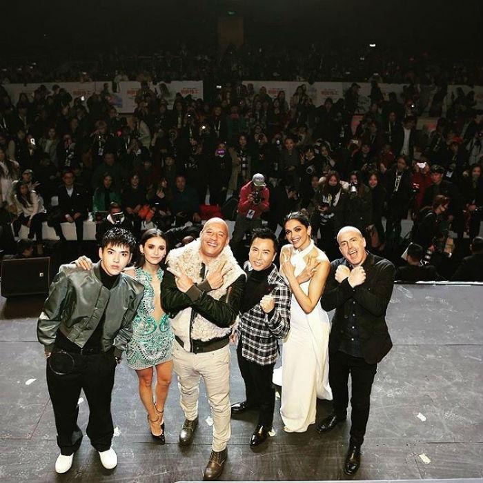 Deepika Padukone xXx 3 Diaries Continue in Beijing