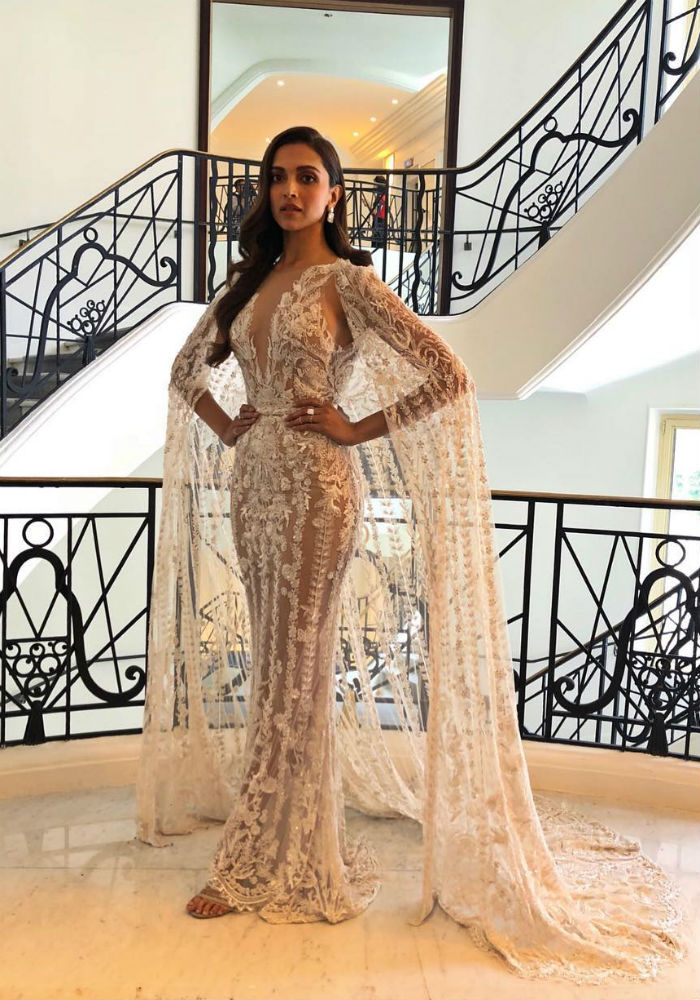 Cannes 2018: Deepika And Kangana\'s Sheer And Sequin Story