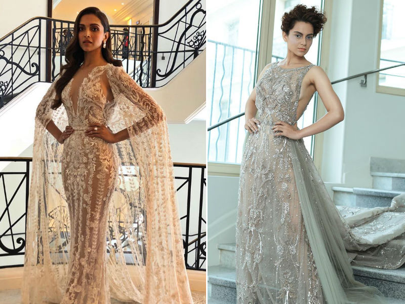 Cannes 2018: Deepika And Kangana's Sheer And Sequin Story