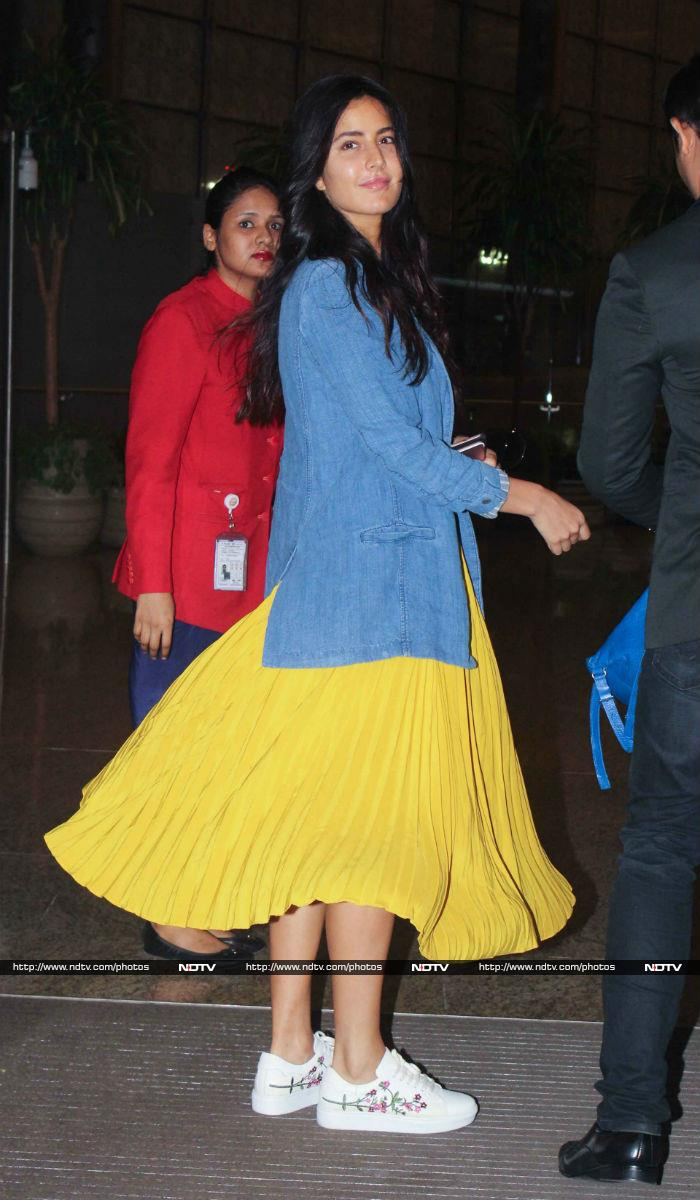 Deepika Padukone Or Katrina Kaif: Who Owned The Airport Look?
