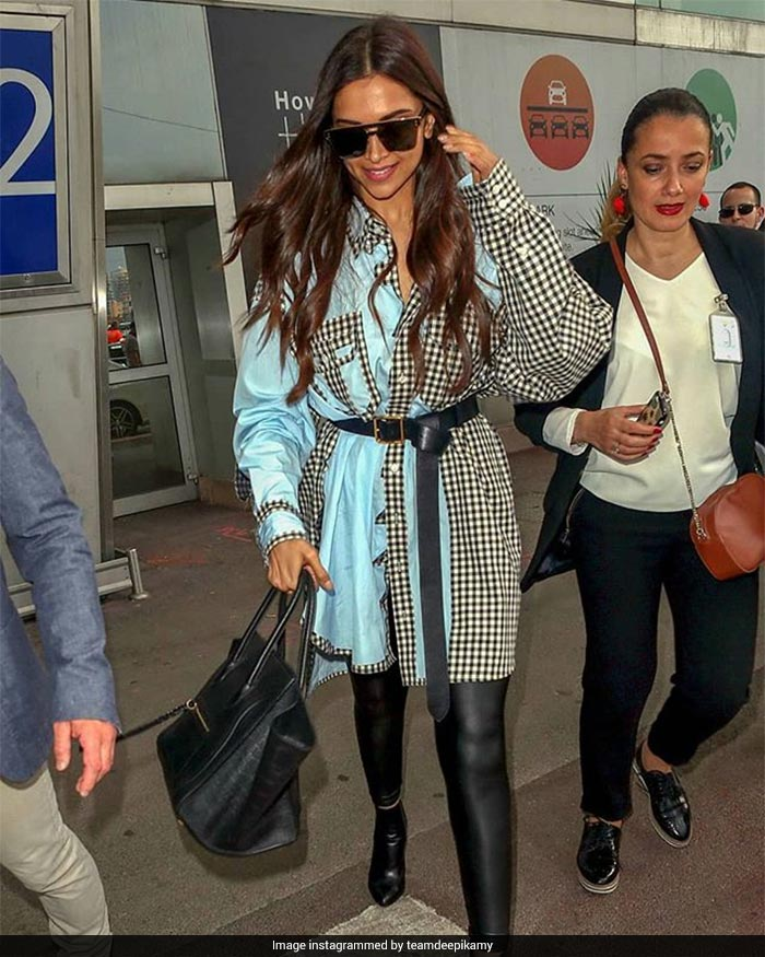 Deepika Padukone Checked Into Cannes Looking Like This