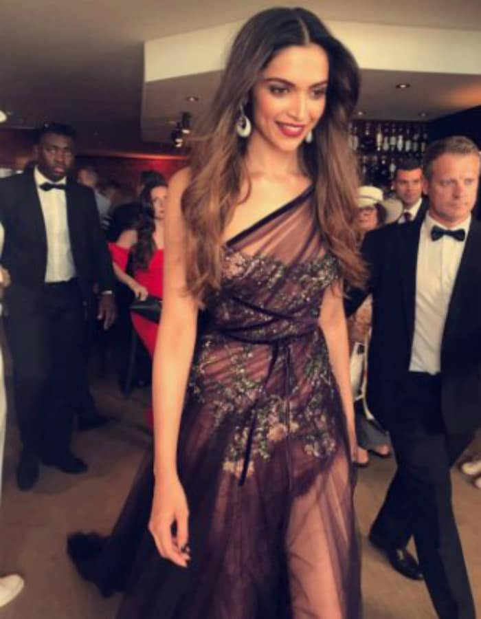 Deepika Padukone And A Fashion Overdose On The Cannes Red Carpet