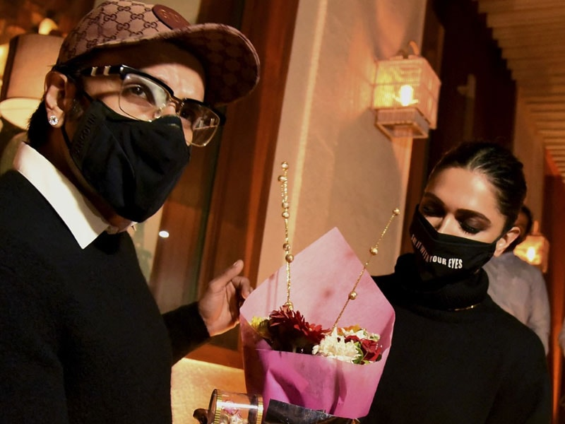 At Deepika Padukone's Birthday Party: Ranveer Singh, Ranbir Kapoor, Alia Bhatt And Others