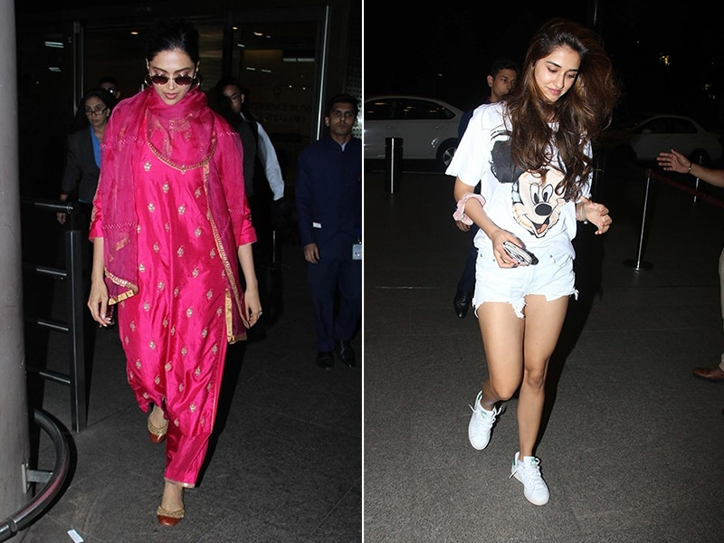 Deepika Padukone And Disha Patani's Airport Diaries
