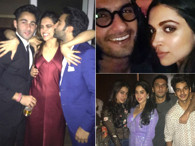 9 Epic Moments From Deepika Padukone's Weekend Party