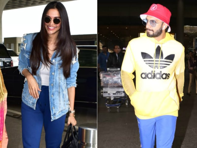 Airport Diaries: Ranveer In, Deepika Out