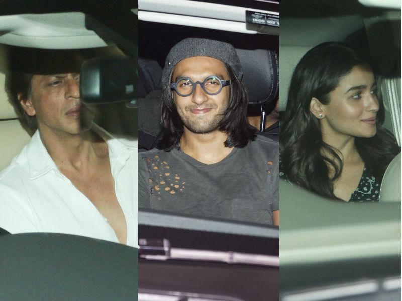 Photo : दीपिका की पार्टी में शामिल हुए SRK, रणवीर और आलिया