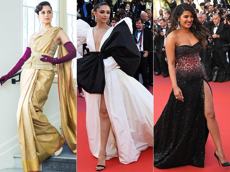 How Desi Girls Deepika, Priyanka And Kangana Lit Up Cannes
