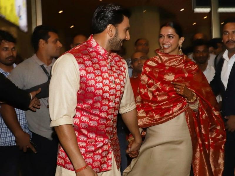 Deepika Padukone, Ranveer Singh Are Back In The Bay. The Smiles Say It All