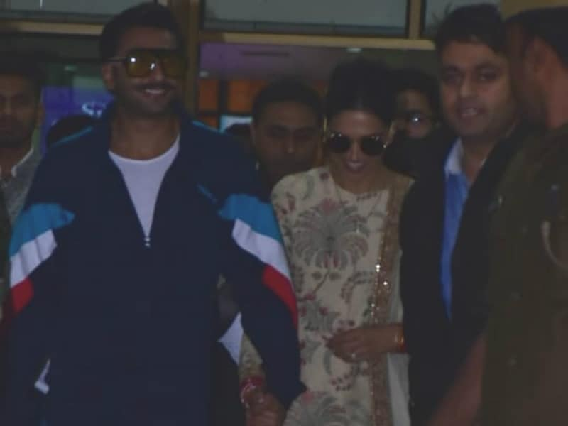 Deepika And Ranveer Join The Ambanis In Udaipur