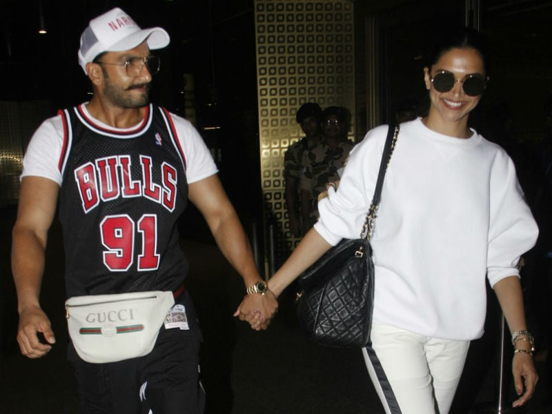 Wait. Stop. And See: Deepika And Ranveer Light Up Mumbai