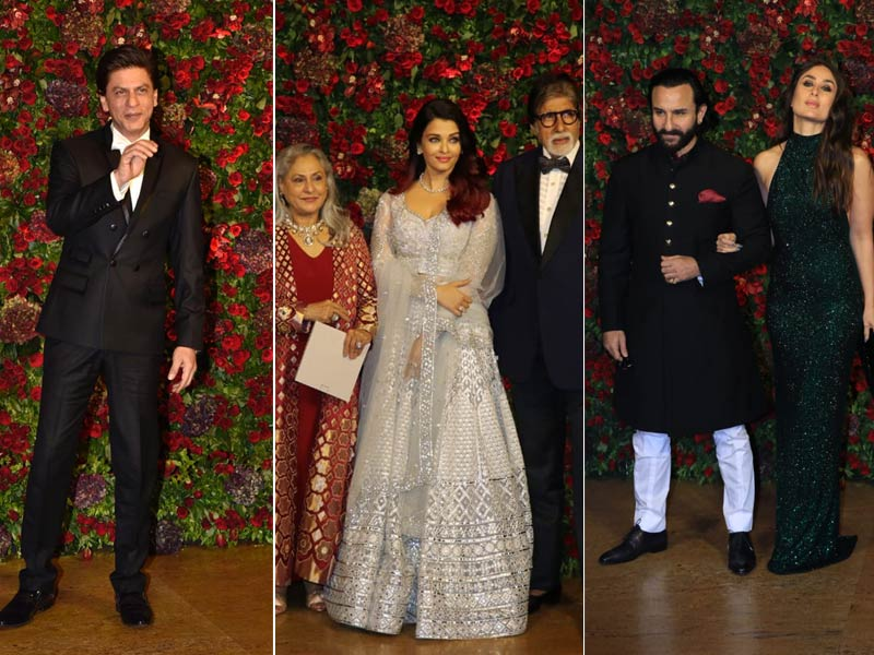 Inside Deepika Padukone And Ranveer Singh's Star-Studded Mumbai Reception