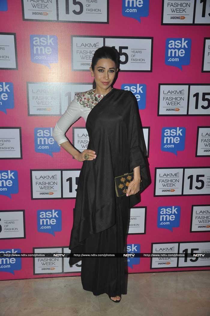 Front Row Fashion With Deepika, Nita Ambani, Sonakshi