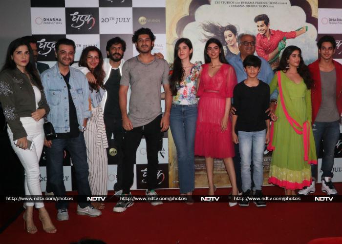 फिल्म 'धड़क' का ट्रेलर लॉन्च, जाह्नवी कपूर का दिखा शानदार अंदाज