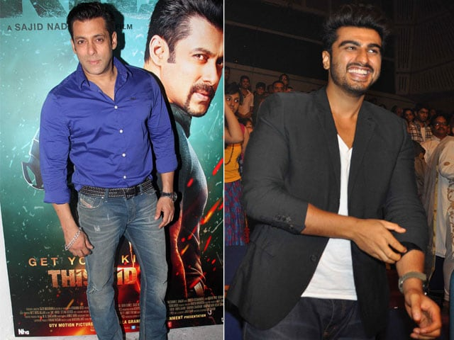 Salman, Shishya Arjun's Sunday Splash