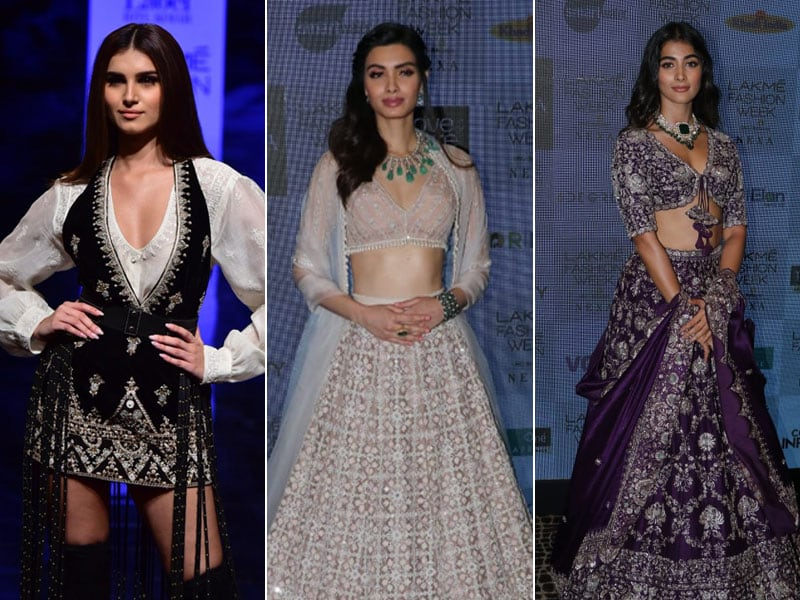 Tara Sutaria, Diana Penty And Pooja Hegde Made Heads Turn At The Lakme Fashion Week