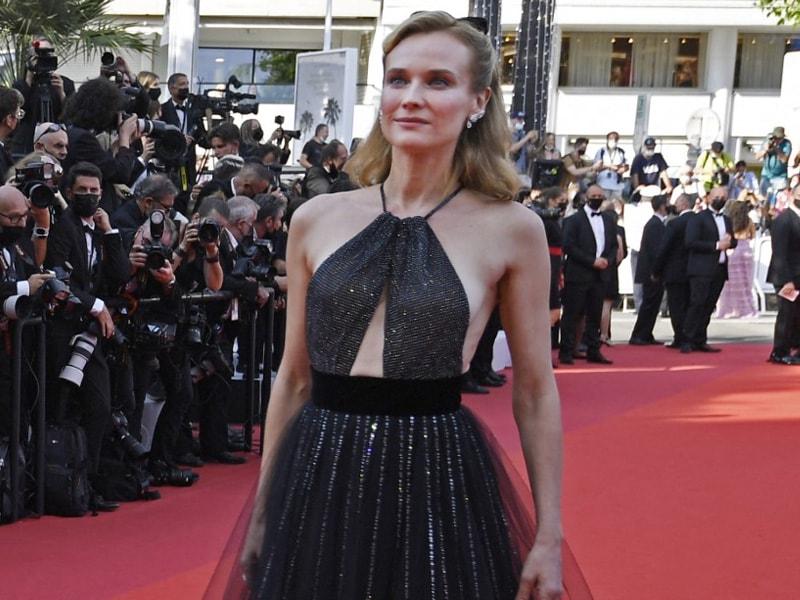 Photo : Diane Kruger Exudes Elegance On Day 2 Of Cannes Film Festival