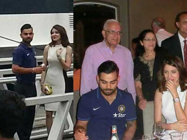 Anushka and Virat Romance Down Under