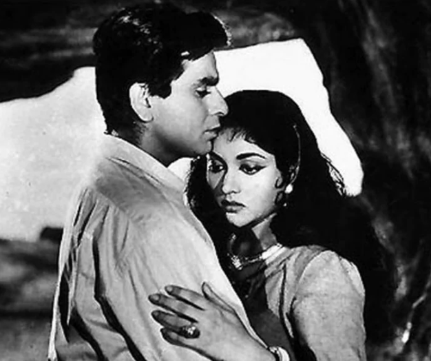 Dilip Kumar was next seen in Bimal Roy\'s Madhumati (1958) which dealt with the subject of reincarnation. One of his most commercially successful films, Madhumati provided the inspiration for Shah Rukh Khan\'s Om Shanti Om.