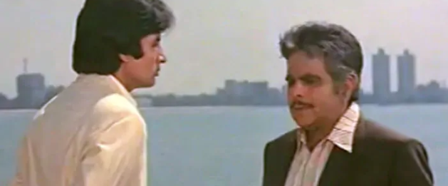 In 1982, two Bollywood giants appeared in their first (and only) film together. Ramesh Sippy\'s Shakti cast Dilip Kumar as the honest cop and Amitabh Bachchan as his estranged son. The film fetched Dilip saab his eighth and last Filmfare award.