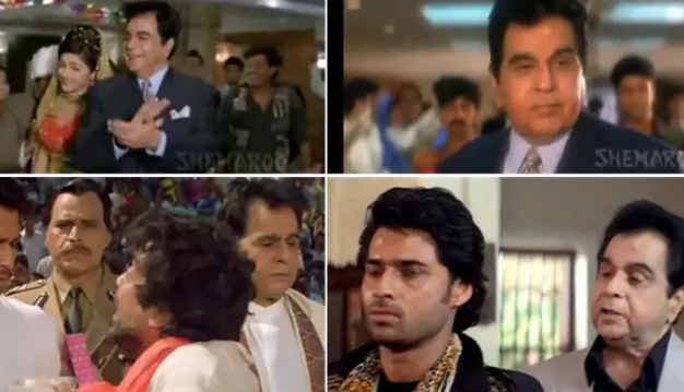 In 1998, Dilip saab appeared in his last film, the flop Qila, opposite Rekha.
