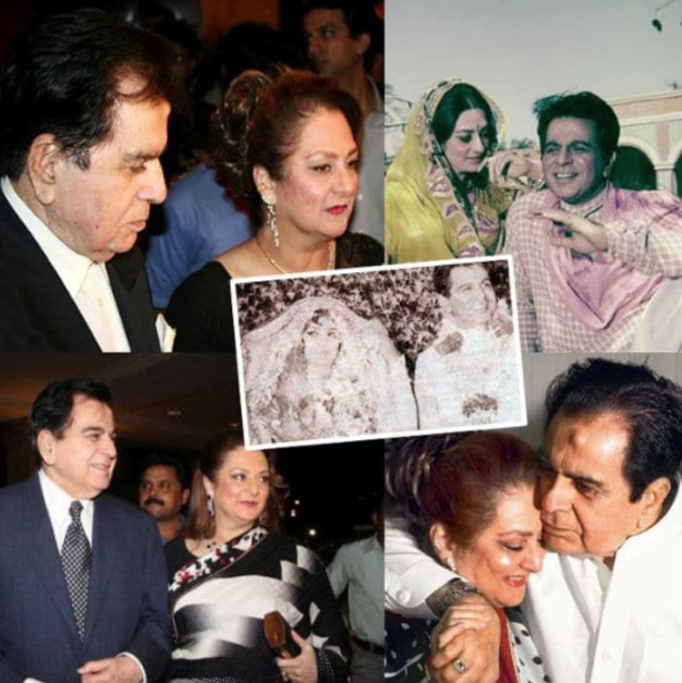 Dilip Kumar married actress Saira Banu in 1966, when he was 44 and she was 22. They have co-starred in films like Gopi, Sagina and Bairaag.