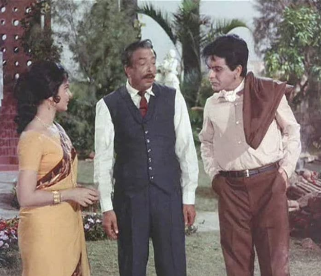 Dilip Kumar\'s first double role was in Ram Aur Shyam (1967). The movie inspired multiple remakes in Bollywood such as Seeta Aur Geeta starring Hema Malini (1972), Chaalbaaz (starring Sridevi) in 1989 and Kishen Kanhaiya (starring Anil Kapoor) in 1990. And yes, there was a Filmfare award waiting for Dilip saab.