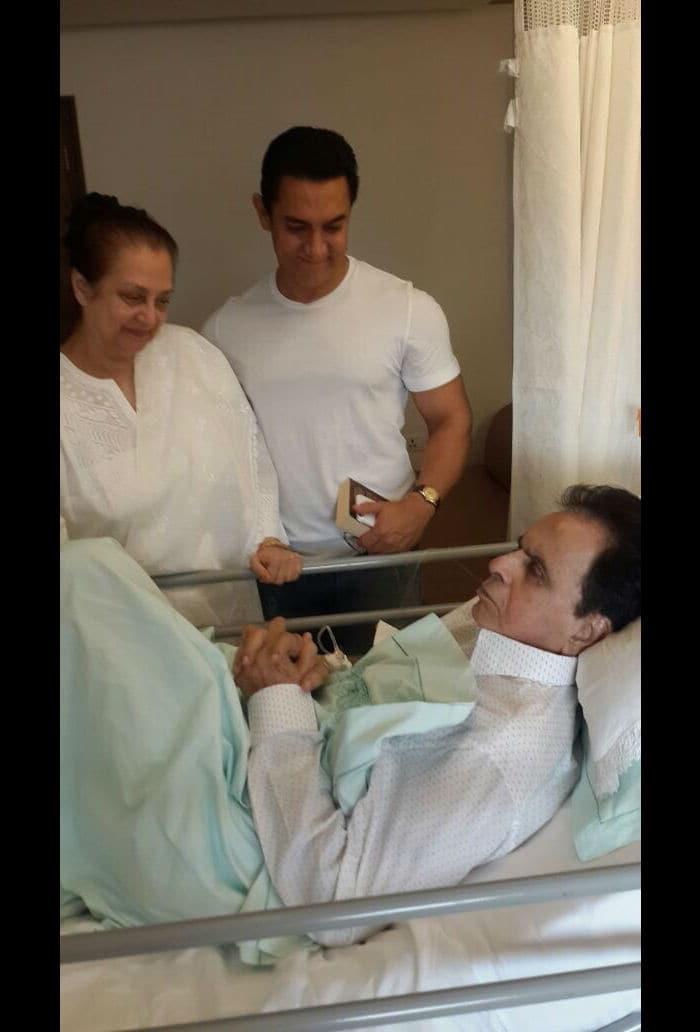खुशखबरी, अभिनेता दिलीप कुमार को मिली अस्पताल से छुट्टी