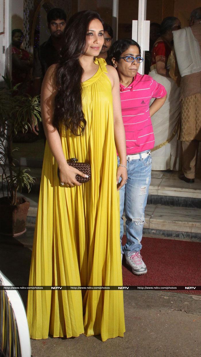 Bollywood at Dilip Kumar\'s birthday celebrations >
